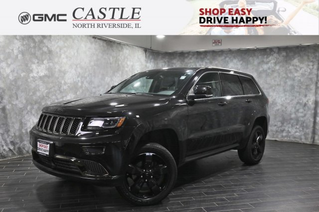 Pre-Owned 2015 Jeep Grand Cherokee High Altitude