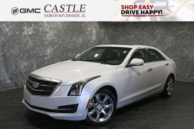 Cadillac Ats Sedan >> Pre Owned 2016 Cadillac Ats Sedan Luxury Collection Awd Awd