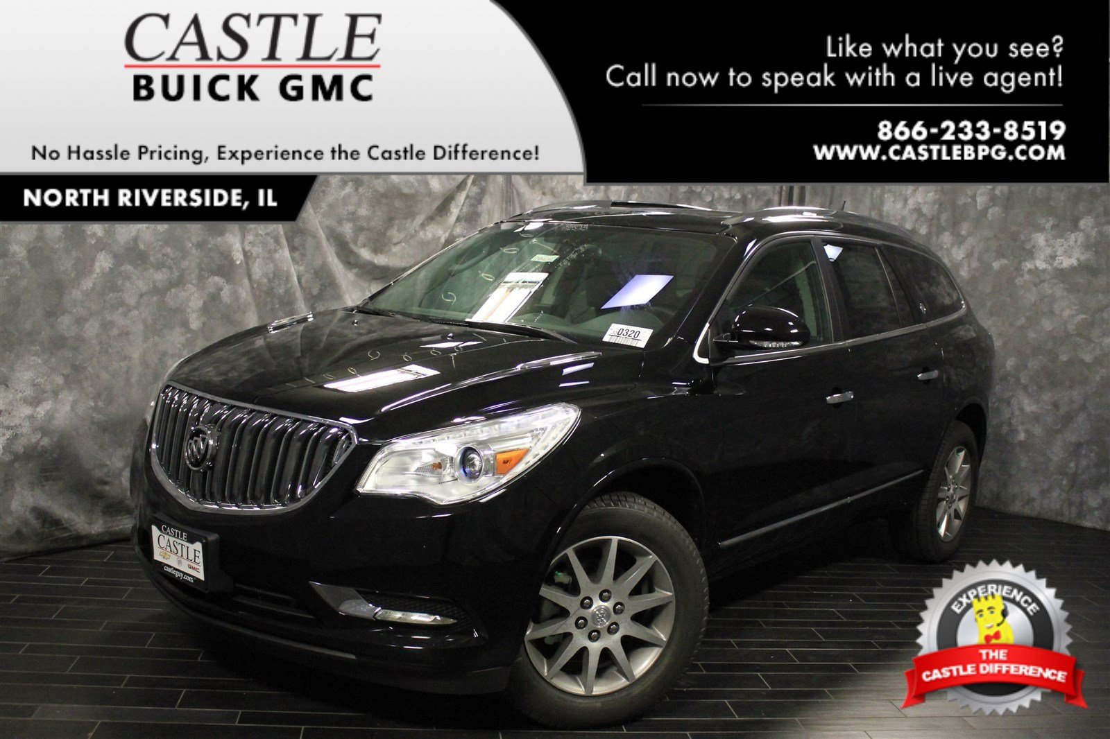 Riverside Buick Enclave >> New 2017 Buick Enclave Leather Sport Utility in North Riverside #70426 | Castle Buick GMC