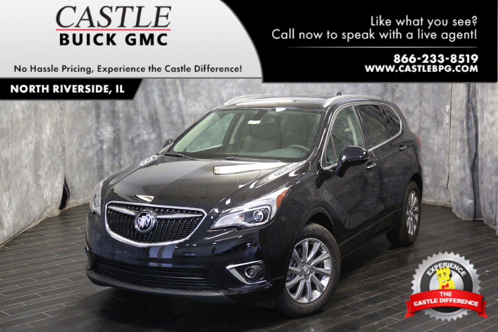 New 2019 Buick Envision Essence Sport Utility In North Riverside