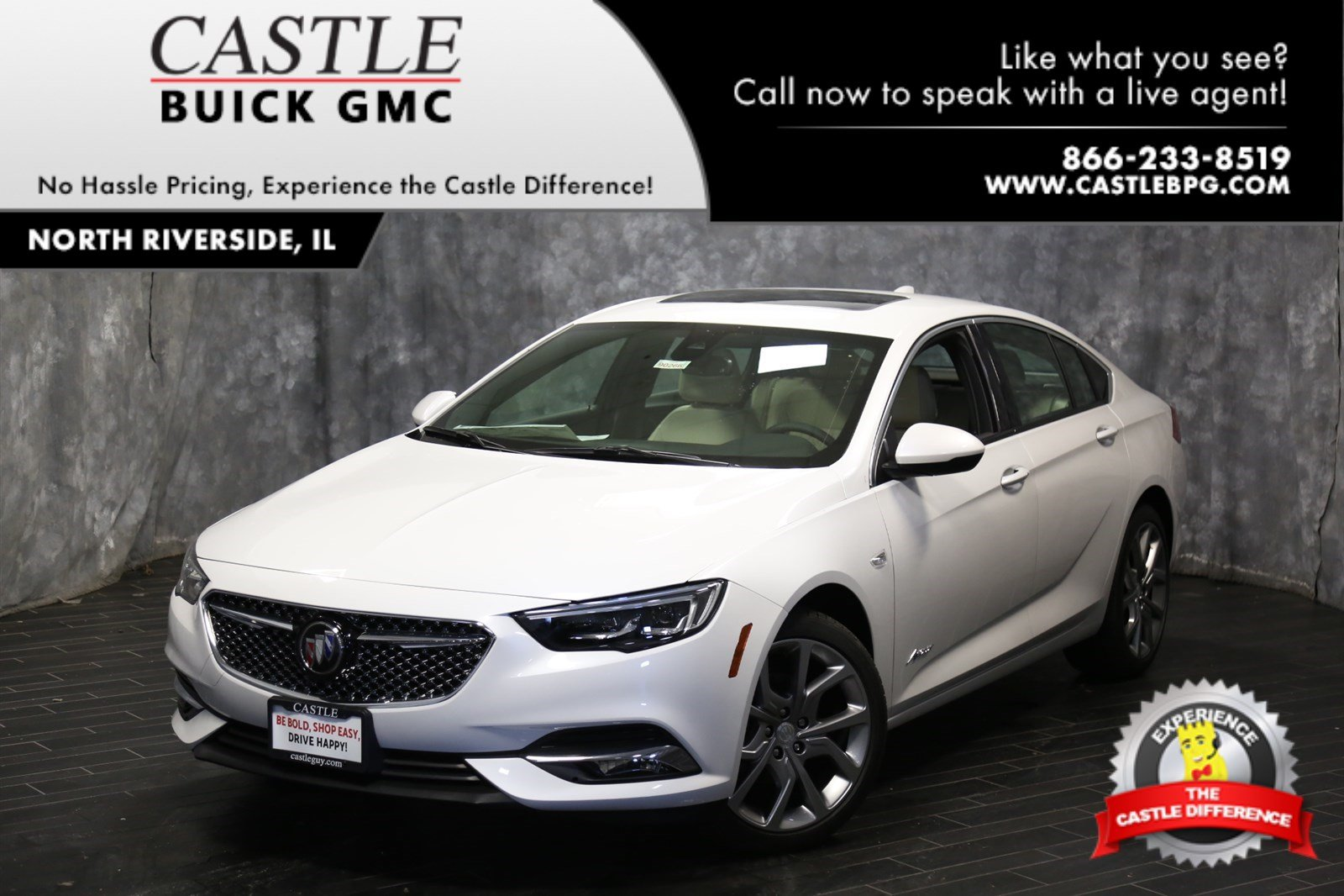 New 2019 Buick Regal Sportback Avenir Hatchback In North Riverside